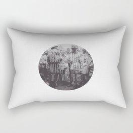 Gory, Gory Rectangular Pillow