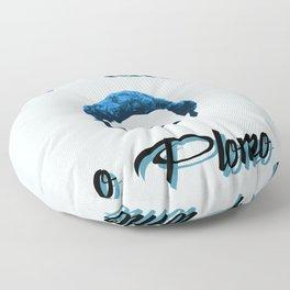 Plata o plomo! Floor Pillow