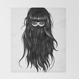 It Girl Throw Blanket