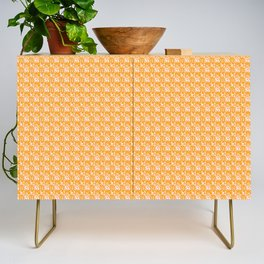 Abstract in Yellow and Cream Credenza