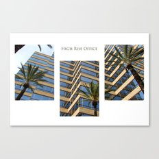 High Rise Office Canvas Print