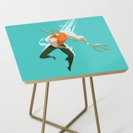 With the fishes Side Table