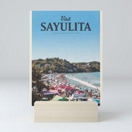 Visit Sayulita Mini Art Print