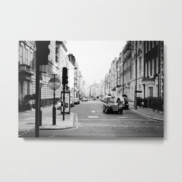 London street Metal Print