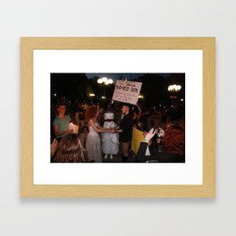 Drag Queens Marriage Framed Art Print