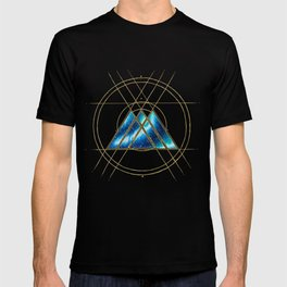 Nebula Warlock Sigil T-shirt
