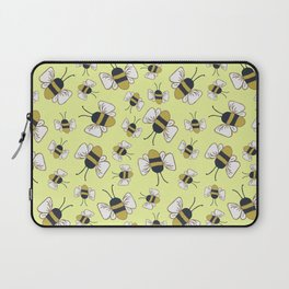 Spring Bee Buzz in Yellow Laptop Sleeve