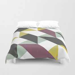 Geometric decor Duvet Cover
