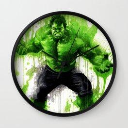 Hulk Splash! Wall Clock