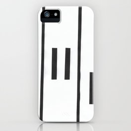 Falling Piano Keys iPhone Case