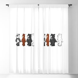 Dancing Bears Blackout Curtain