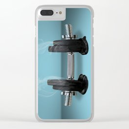 work out Clear iPhone Case