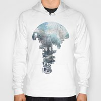 transparent Hoodies featuring Secret Streets II by David Fleck