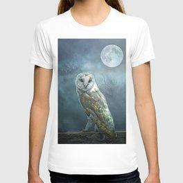 Barn Owl Moon T-shirt