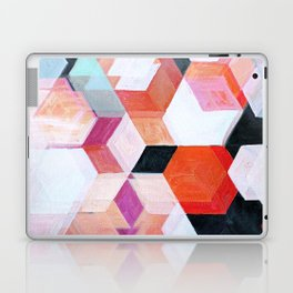 White Paint and Some Colors Laptop & iPad Skin