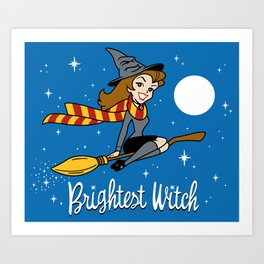 Brightest Witch Art Print