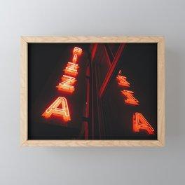 pie Framed Mini Art Print
