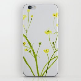 Icelandic Buttercup iPhone Skin