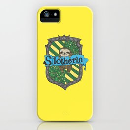 Slotherin iPhone Case
