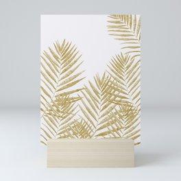 Fern Golden Mini Art Print