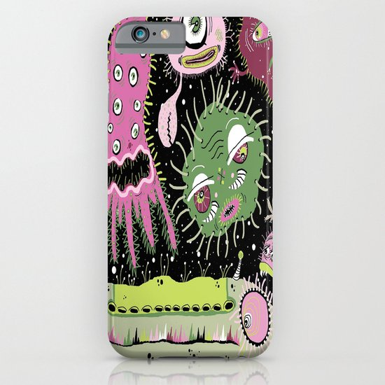 Cosmic Cooties iPhone & iPod Case