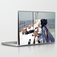 pigeon Laptop & iPad Skins featuring Pigeon by Toni Tylicki