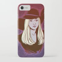 coven iPhone & iPod Cases featuring Zoe Benson / American Horror Story: Coven by Lauren C Skinner