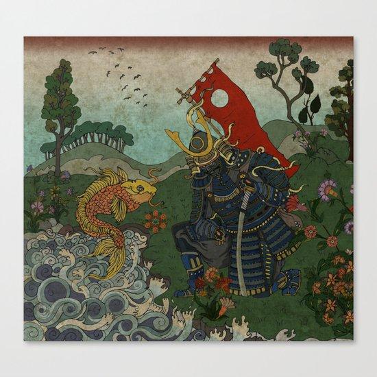 Haunt for Little Blind Fish Canvas Print