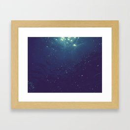 A Sea of Stars II Framed Art Print