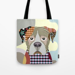 Boxer Dog Tote Bag