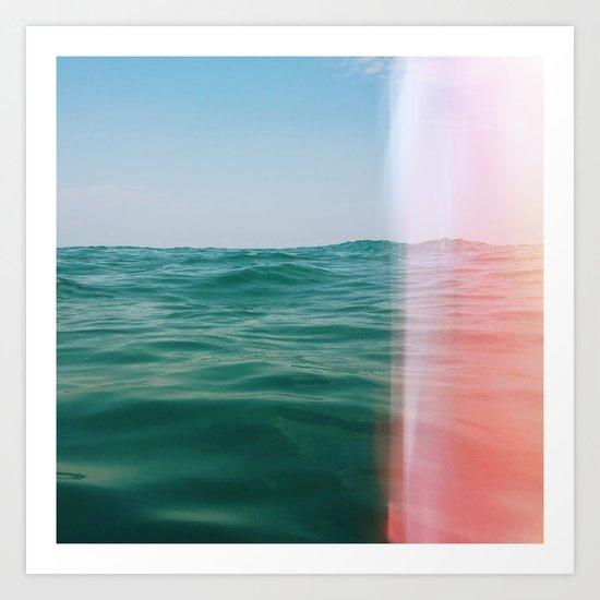 Whisper of Waves Art Print