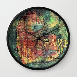 Permission Series: Brave Wall Clock