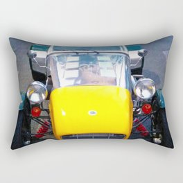 caterham, super seven, super 7, Lotus, classic cars, car, sports cars, british car, Rectangular Pillow