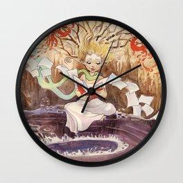 Story Wall Clock