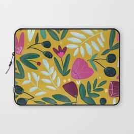 Mustard bouquet Laptop Sleeve