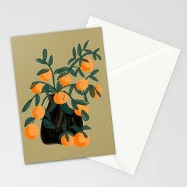 Oranges in vase No. 07 Stationery Cards