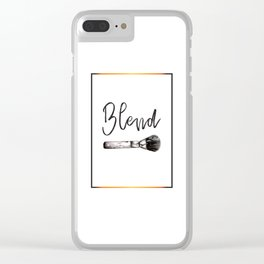 Blend Clear iPhone Case