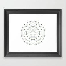 Anime Magic Circle 4 Framed Art Print
