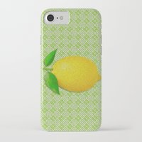 lemon iPhone & iPod Cases featuring Lemon by Mr and Mrs Quirynen