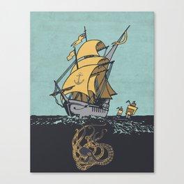 The Secrets of the Sea Canvas Print