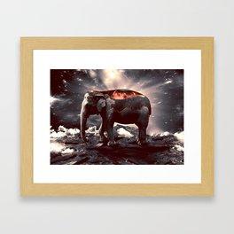 elefount / luminescent series Framed Art Print