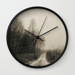 Snowfalls Gone By Wall Clock