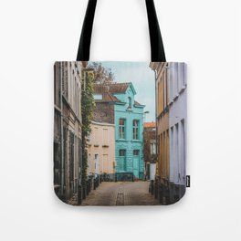 Streets of Belgium Tote Bag