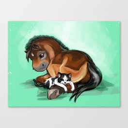 Tuckered Out Canvas Print