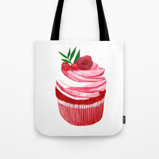 Red velvet cupcake Tote Bag