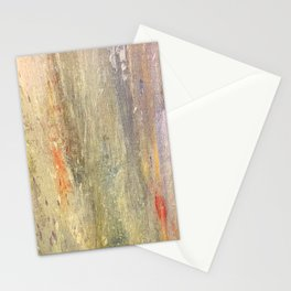 Streaks of Sunset Raining Down: Abstract Art Stationery Cards
