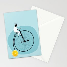 My bike Stationery Cards