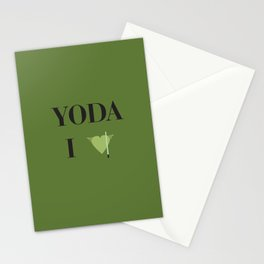 I heart Yoda Stationery Cards