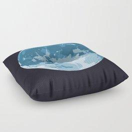 Super! Moon Floor Pillow