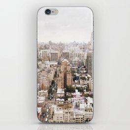 Rosy New York iPhone Skin